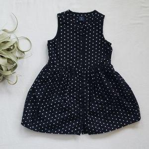 GAP KIDS Black Polka Dot Dress
